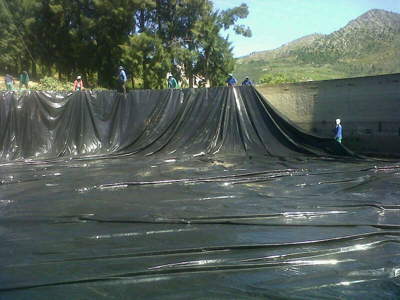 Pvc Reservoir Linings And Dam